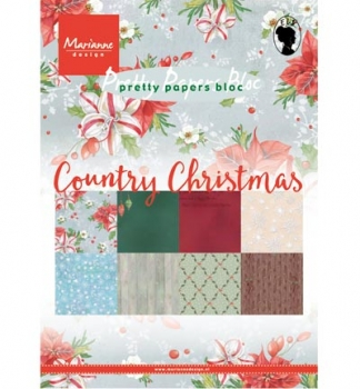 Pretty Papers Bloc - A5 - Country Christmas