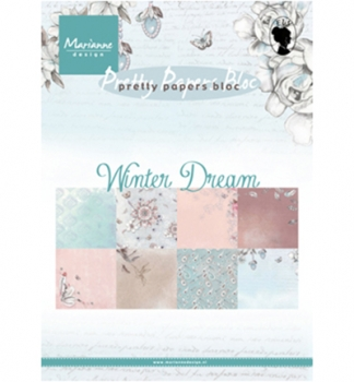 Pretty Papers Bloc - A5 - Winter Dream