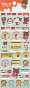 Puffy - Sticker - Coopanda, mint