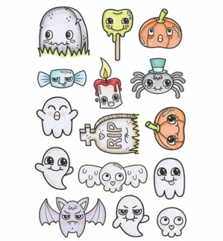 Halloween Things - Clear Stamps von C.C.Designs