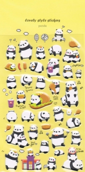 Puffy - Sticker - Panda