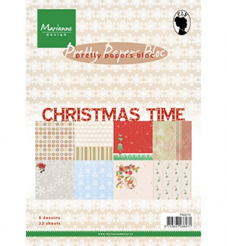 Pretty Papers Bloc - A5 - Christmas Time