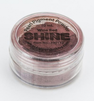 SHINE - Wine Red - Glimmerpigmentpuder