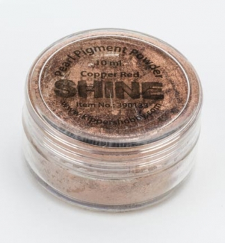 SHINE - Copper Red - Glimmerpigmentpuder