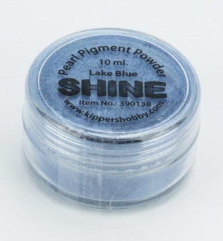 SHINE - Lake Blue - Glimmerpigmentpuder