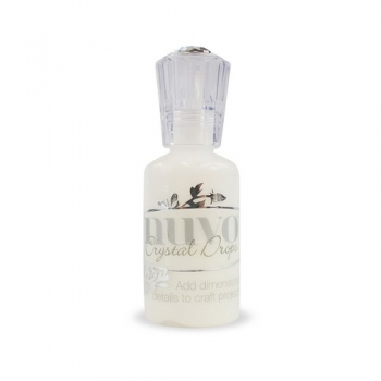 Nuvo - Crystal Drops - Gloss - Simply White - 651N
