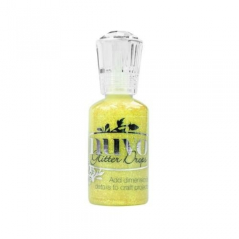 Nuvo - Glitter Drops - Yellow Bird - 769N