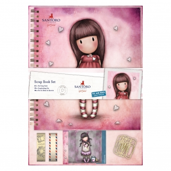 ​Scrap Book Set Zum Ausmalen - Gorjuss - Santoro