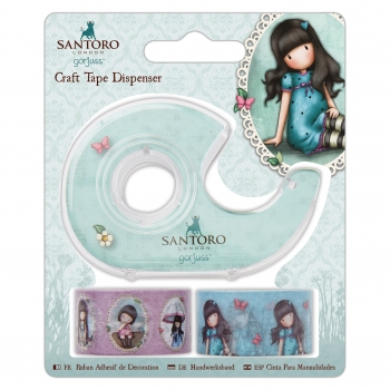 Craft Tape Dispenser - Gorjuss - Santoro