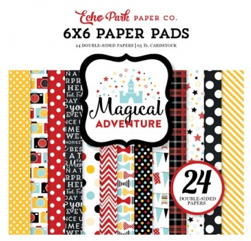 "6 x 6"" Paper Pads - Magical Adventure (180g/m²)"