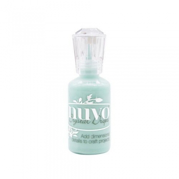 Nuvo - Crystal Drops - Gloss - Calming Aqua - 1800N