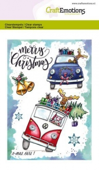 X - Mas Cars 1 - Clear Stamps