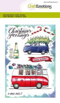 X - Mas Cars 2 - Clear Stamps