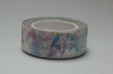 Washi Tape - Aquarellzeichnung Japan