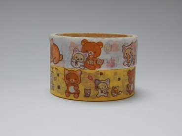 Washi Tape - Rilakkuma - 2er Set