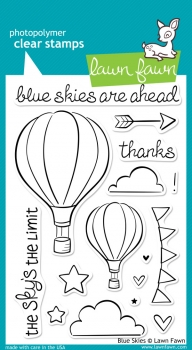 Blue Skies - Clear Stamps von Lawn Fawn